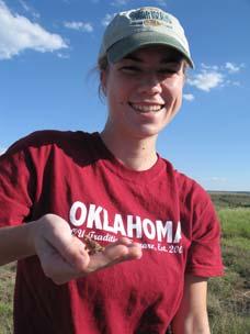 Brittney Hamptonstall, intern, fall 2010