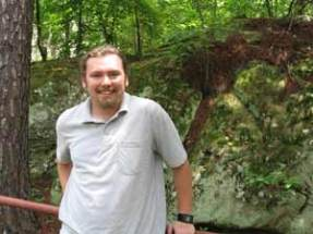 Dustin Woods, undergrad research assistant, 2007