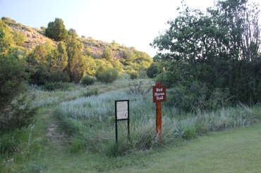 Lovely little trail at Black Mesa State Park.
