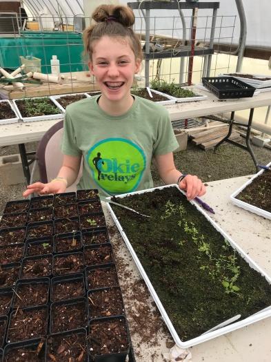 Rose Crawford, teen volunteer, 2016-2018
